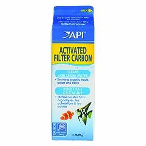 API Activated Filter Carbon, Quart Carton, Net Weight 11-Ounce