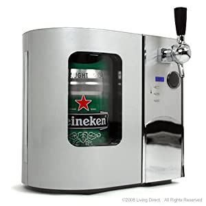 Mini Kegerator Refrigerator and Draft Beer Dispenser - EdgeStar