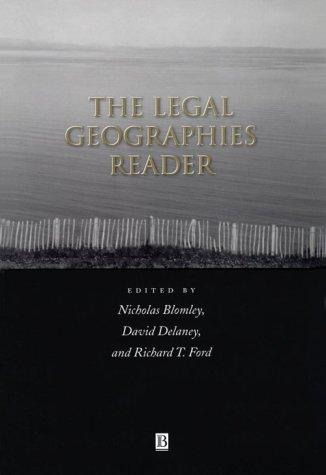法律地区读者: 法律、 权力和空间