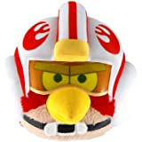 "Angry Birds Star Wars Bird Luke 5"" Plush with Sound and Helmet"