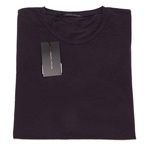 4355O t-shirt manica corta ROBERTO COLLINA blu navy maglie uomo t-shirt men [48]