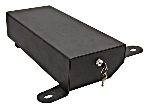 Bestop 42642-01 Black Under Seat Passenger Side Lock Box (does not fit '11-up Wrangler 2-door models)