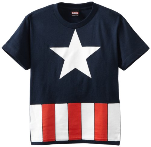 Captain America The Great Star Youth T-Shirt