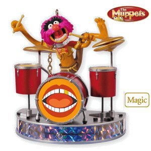 Muppet Animal on Drums