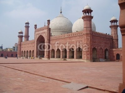 Wallmonkeys Peel and Stick Wall Decals - Badshahi Mosque, Lahore, Pakistan - 24
