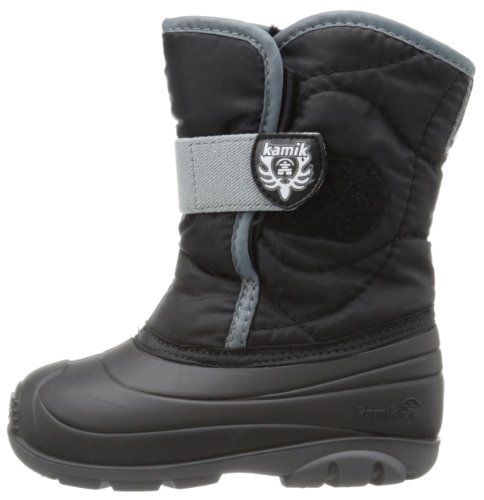Kamik Footwear Snowbug3 Insulated Boot (Toddler),Black,10 M US Toddler