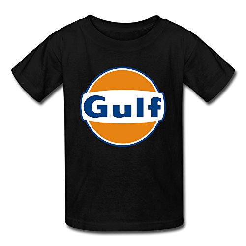 MAT Q VO Unisex-Baby/Toddler/Infant Gulf Logo T Shirts/Tee (Tonkin Trailers compare prices)