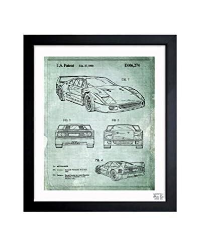 Oliver Gal Ferrari F40 1990 Framed Art