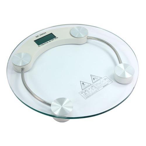 Digital Lcd Glass Weight Body Bathroom Health Scale