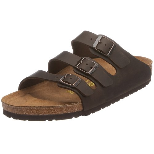 Birkenstock Bahama Smooth Leather, Style-No. 29121, Unisex Clogs, Turf, EU 37, normal width