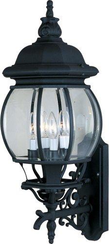 Maxim Lighting 1037BK 4 Light Crown Hill Outdoor Sconce