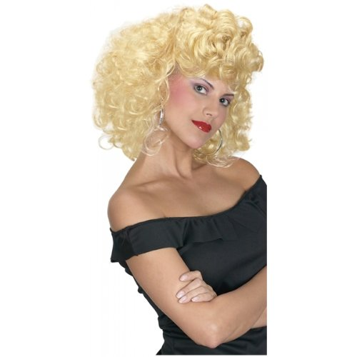 Cool 50's Girl Wig Costume Accessory (Sandys Cool Grease Costume Wig)