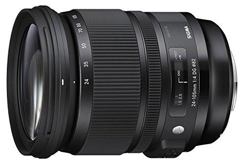 Sigma Objectif 24-105 mm F4,0 DG OS HSM - Monture Nikon Noir