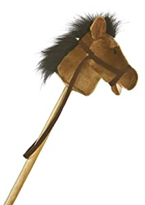 "Aurora Plush 37"" Horse Stick Pony by Aurora Plush"