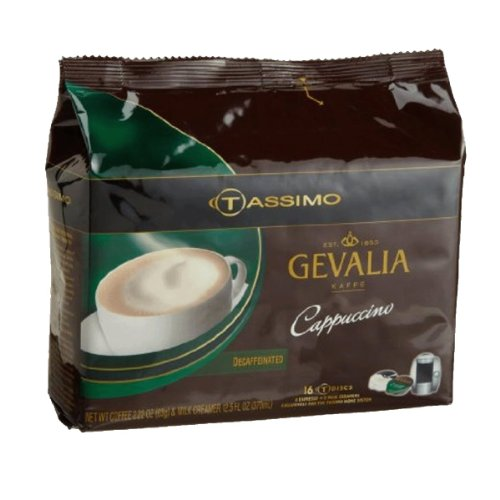 Tassimo Decaf Cappuccino T-Discs (Tassimo Disk compare prices)