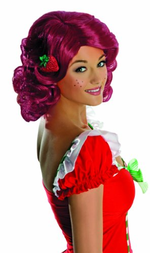 Secret Wishes Deluxe Adult Strawberry Shortcake Wig
