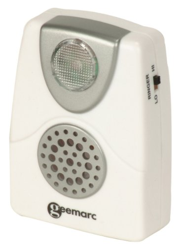 Geemarc CL11 Amplificateur de sonnerie Blanc (version Française)