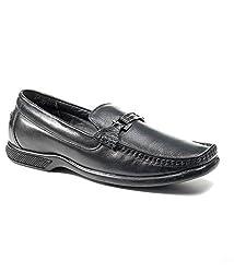 BellBut Black Men Formal Shoes (9955)