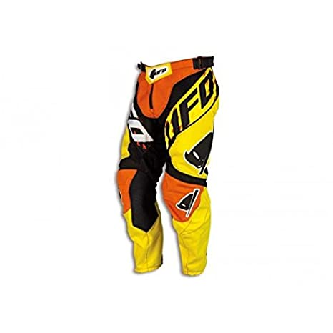 Pantalon off-road Ufo Misty orange/jaune taille 36 - 43303036 - Pantalon Off-Roa