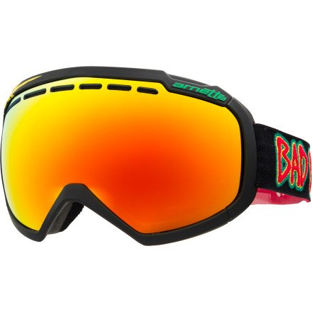Arnette Skylight Snow Goggle, Bad Brains with Inferno and Emerald Lens