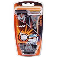 3-Pack Pace 6 Disposables Razors