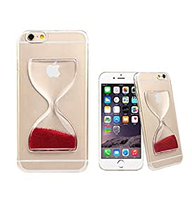 FEYE New Arrival Sand Clock Hourglass Timer Transparent Hard 3d Case Cover For Iphone 6