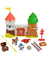 Mattel BCT45 - Fisher Price - Castello di Glendragon