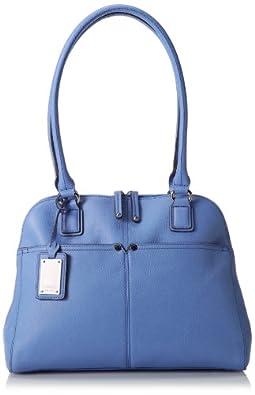 Tignanello Perfect Pockets Dome Shopper Shoulder Bag,Peri,One Size