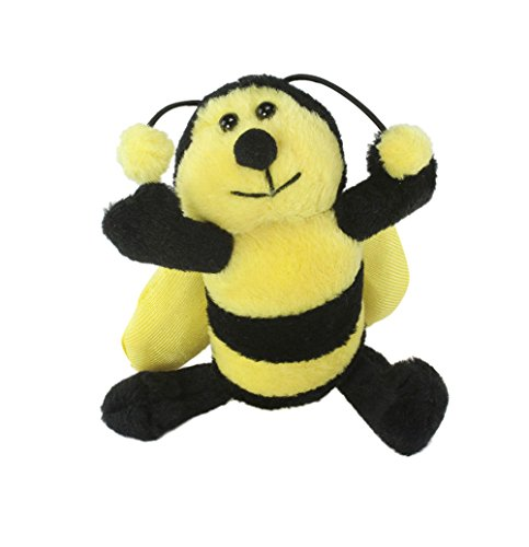 Bumble Bee Plush Keychain by Unipack - Soft, Small Bee Gift, Lovable Bee Party Favor, Adorable Bee Toy.