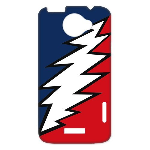 Generic Cell Phones Cover For Htc One X Case Customize Music Band Grateful Dead And Dancing Bears Hard Snap On Phone Cases front-967175