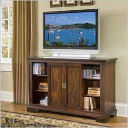 Home Style 5541-10 Windsor TV Credenza, Cherry Finish