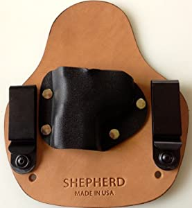 Conceal Micro SOB - Right Hand Draw, Horse Hide, Sig P938 w/Sig Laser - Shepherd Leather IWB Holster