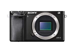 Sony Alpha a6000 24.3 MP Interchangeable Lens Camera - Body only