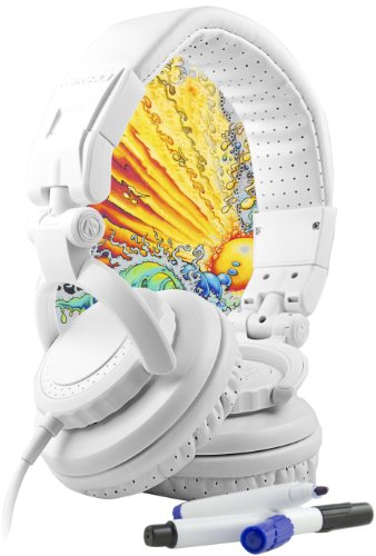 Aerial7 01111 TANK DIY Headphones - White (Discontinued by Manufacturer) (Igo Cable Coiled compare prices)
