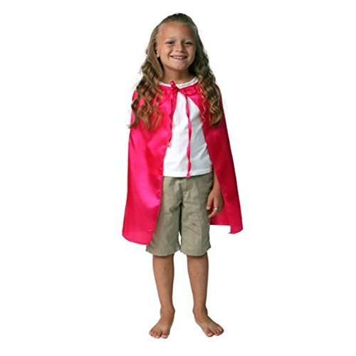 "Hot Pink 20"" Satin Cape"