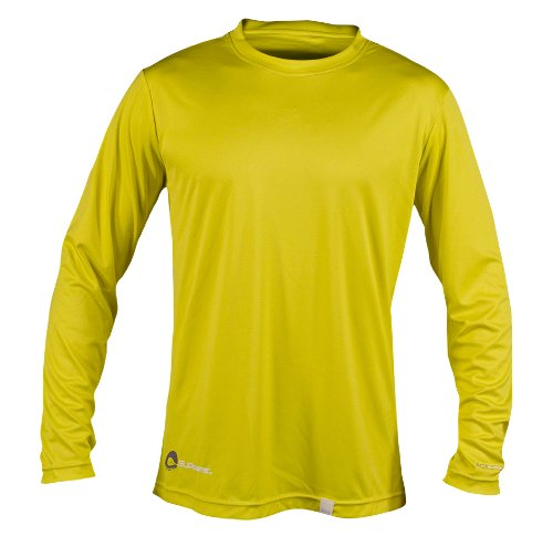 SUPreme Men's UV Shield - Long Sleeve Rash Guard Top - Standup Paddleboarding, Swimming, & Water Sports