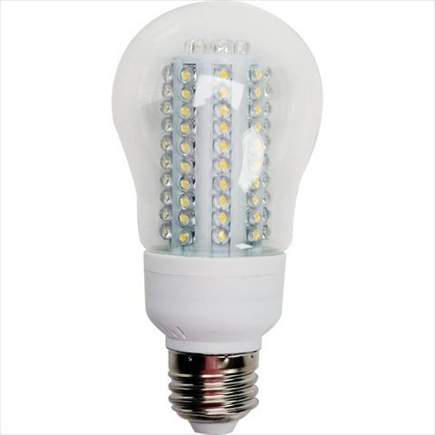 Teksupply 112179 Infinity Led Ultra A-19 Cool White Light Bulb - Clear