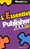 echange, troc Perspection Inc. - L'Essentiel Microsoft Publisher 2000