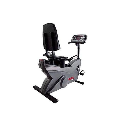 Life Fitness LifeCycle 9500HR Recumbent Exercise Bike