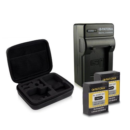 kit-custodia-colore-nero-patona-4in1-caricabatteria-2x-batteria-ahdbt-201-ahdbt-301-per-gopro-hd-her