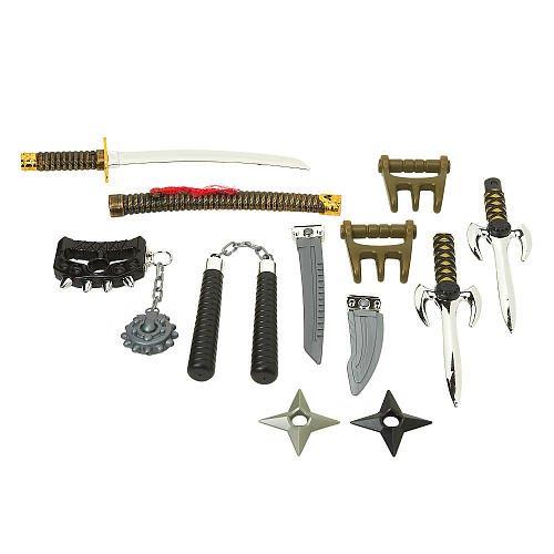 True Legends Ninja Weapons Arsenal front-1002583