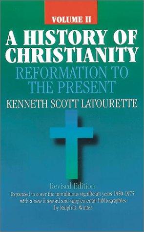HISTORY OF CHRISTIANITY,VOL.II