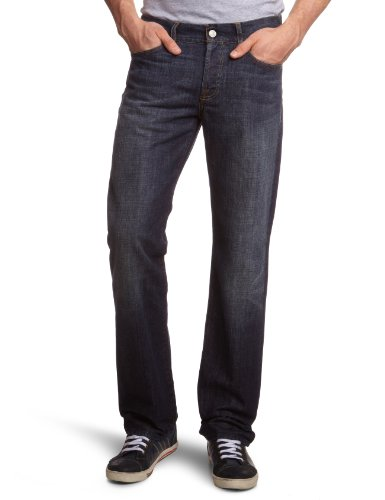 7 For All Mankind Men's SNSGTNNYD Straight Leg Jeans Blue NYD New York Dark 30/34