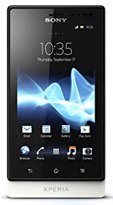 Sony Xperia sola MT27i-WHT Unlocked Phone with 5 MP Camera, Android 2.3 OS, 1 GHz Dual-Core Processor, and 3.7-Inch Touchscreen--U.S. Warranty (White)