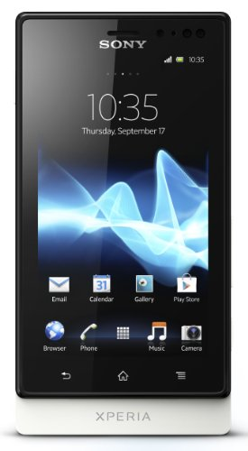 Link to Sony Xperia sola MT27i-WHT Unlocked Phone with 5 MP Camera, Android 2.3 OS, 1 GHz Dual-Core Processor, and 3.7-Inch Touchscreen–U.S. Warranty (White) Discount !!