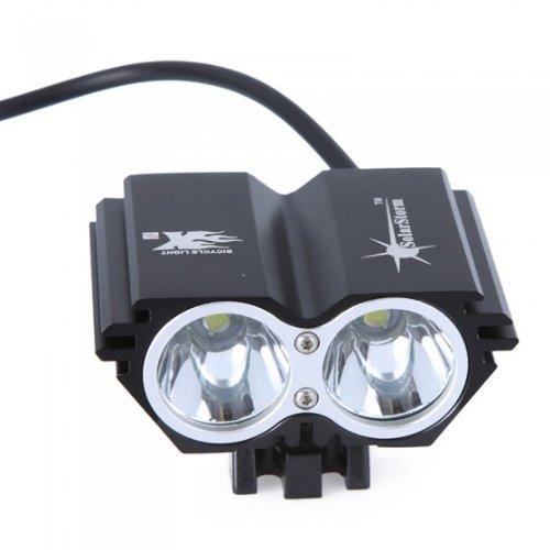 Solarstorm 2Xcree Xml U2 Led Owl Bike Bicycle Headlamp Light +4X18650