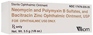 Neo-Poly-Bac Ophthalmic Ointment - 3.5 g