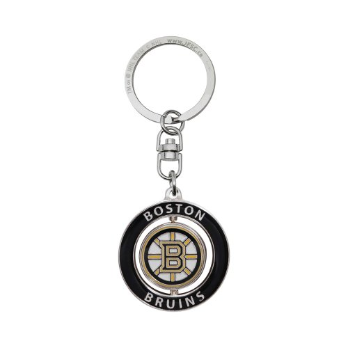 NHL Boston Bruins Stanley Cup Champions Center Spinner Keychain