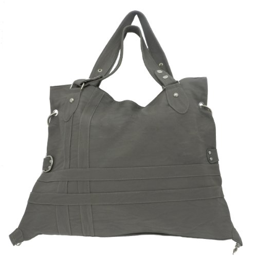 Classic Large Tote Shoulder Bag Purse with Adjustable Size/hook- Various Colors