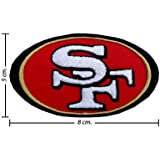 NFL San Francisco 49ers Style-1 Embroidered Iron On Applique